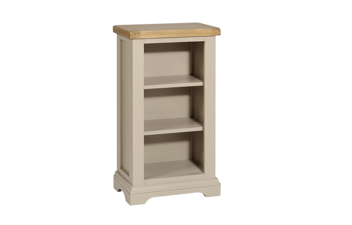 henley-truffle-painted-collection - Henley Truffle Small Bookcase/DVD Rack