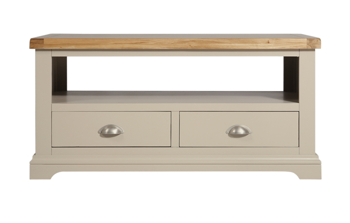 TV Cabinets - Henley Truffle Painted Coffee/TV Table