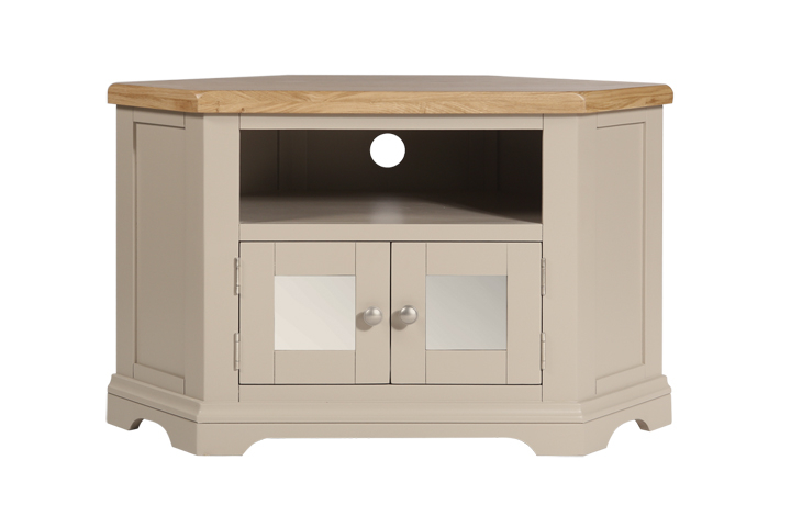 henley-truffle-painted-collection - Henley Truffle Glazed TV Cabinet