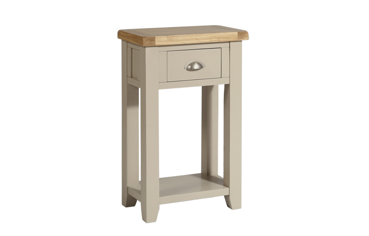 consoles - Henley Truffle 1 Drawer Console Table