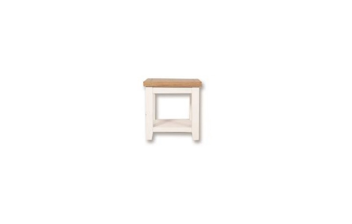 Coffee Tables - Henley White Painted Lamp Table