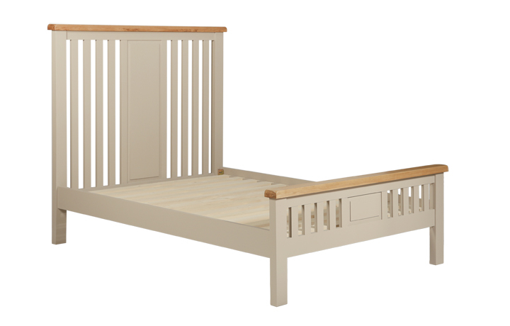 Bed Frames - 5ft Henley Truffle Painted King Size Bed Frame