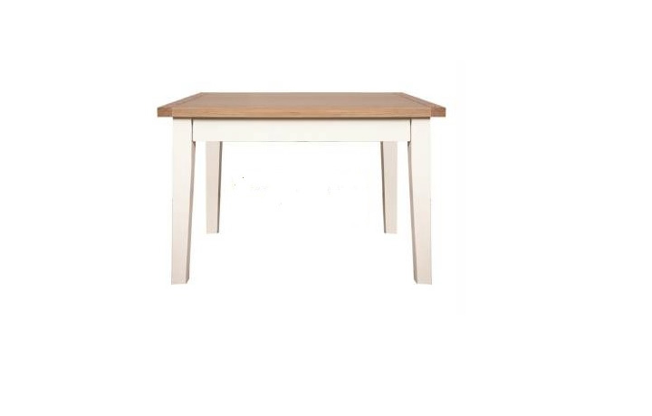 Dining Tables - Henley White Painted 90cm Square Dining Table