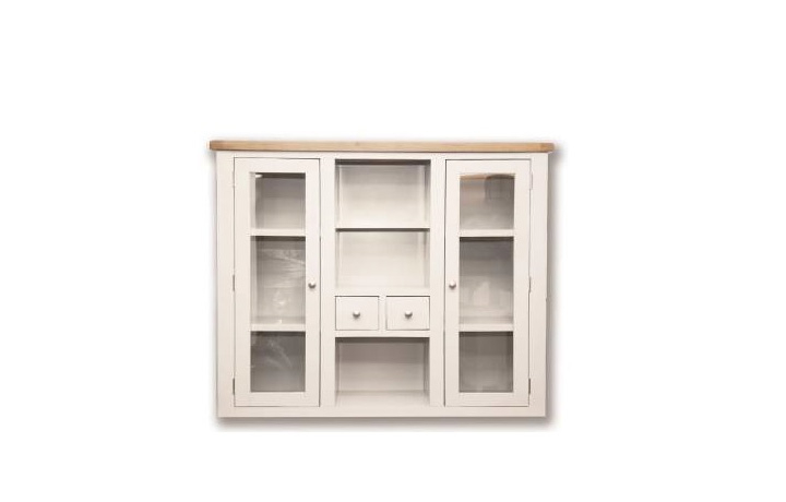 Dressers - Henley White Painted Large Dresser Top