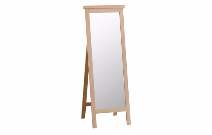 burford-washed-oak-range- - Burford Oak Cheval Mirror