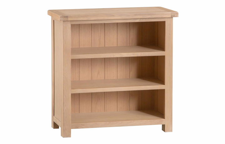bookcases - Burford Oak Small Bookcase