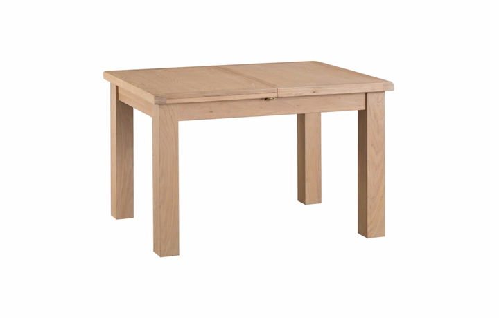 Dining Tables - Burford Oak 125-175cm Butterfly Extending Table