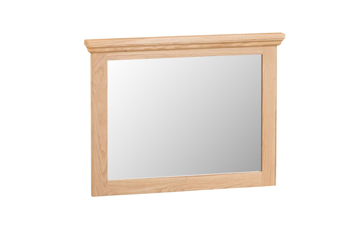 mirrors - Glemham Oak-Small wall mirror