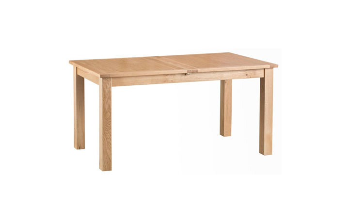 Dining Tables - Glemham Oak 160-205cm Extending Butterfly Table