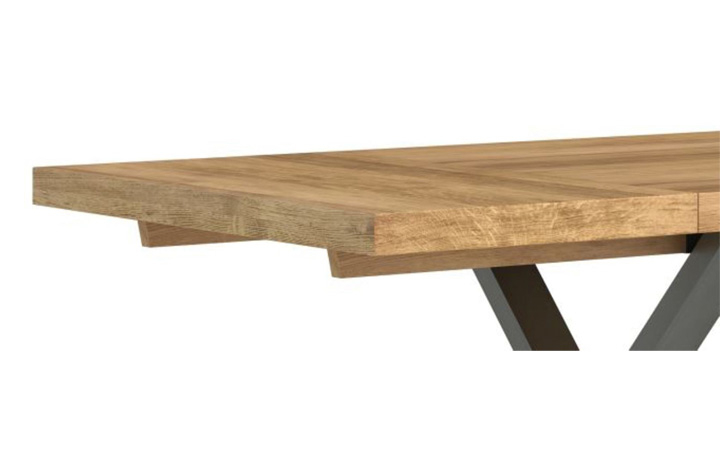native-oak-collection - Native Oak Dining Table Extension Leaf