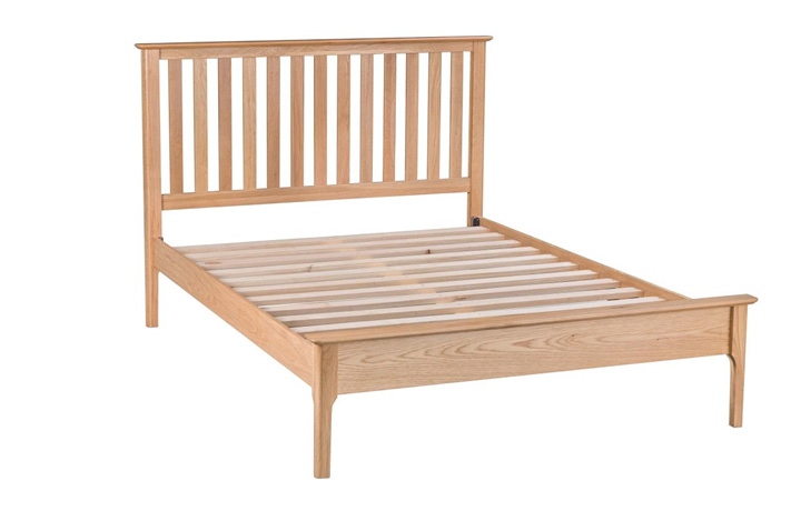 Beds & Bed Frames - 3ft Single Odense Oak Slatted Bed Frame