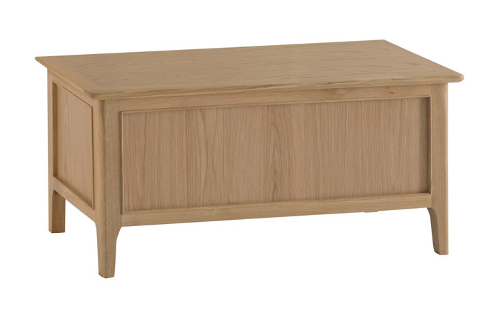 Blanket Boxes - Odense Oak Blanket Box