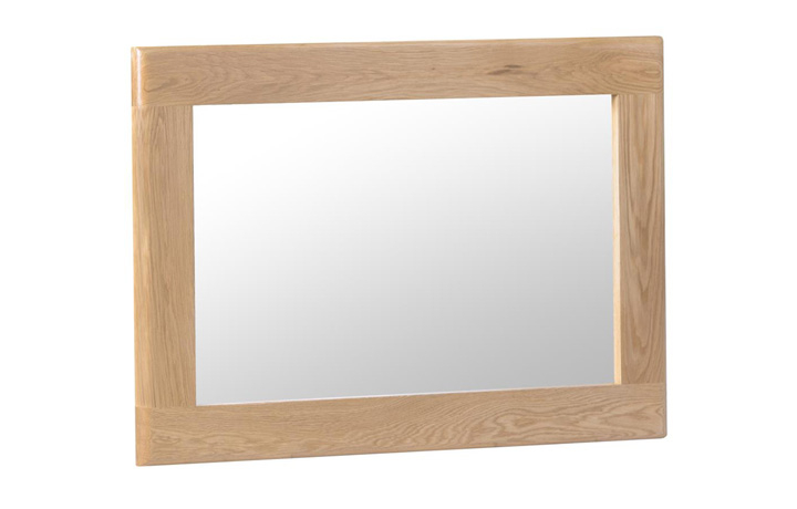 Odense Oak Furniture Collection - Odense Oak Small Wall Mirror