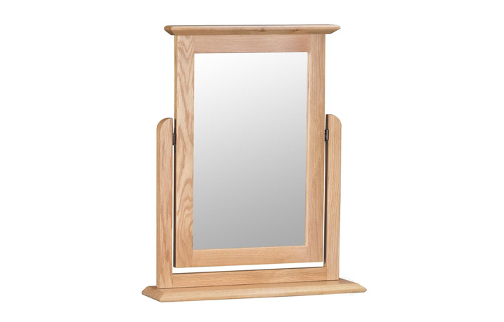 Odense Oak Furniture Collection - Odense Oak Trinket Mirror