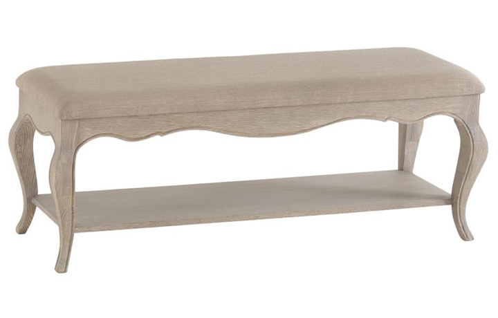 Benches - Blanchir Oak Bench