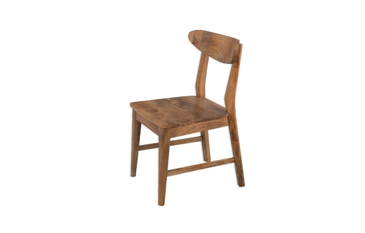 Malmo Solid Mango Wood  - Malmo Mango Dining Chair