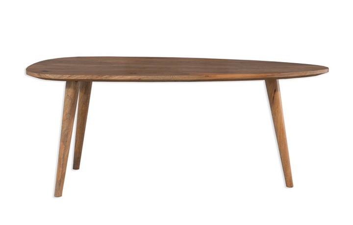 Coffee & Lamp Tables - Malmo Mango Abstract Coffee Table