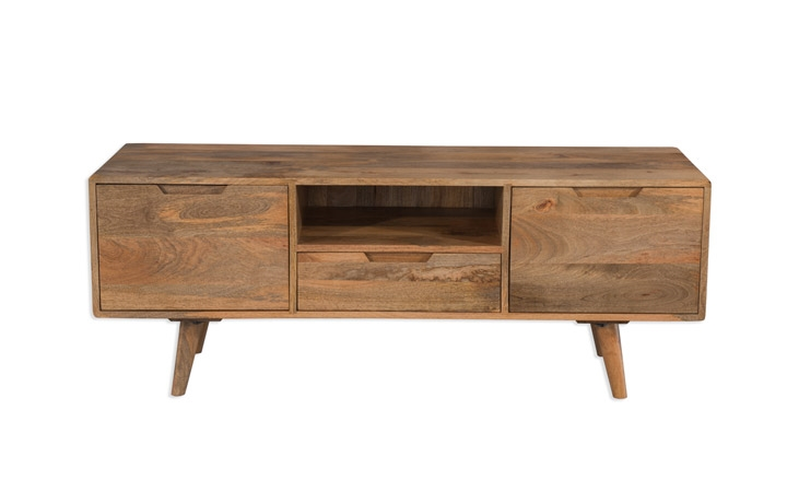 TV Cabinets - Malmo Mango Large TV Cabinet