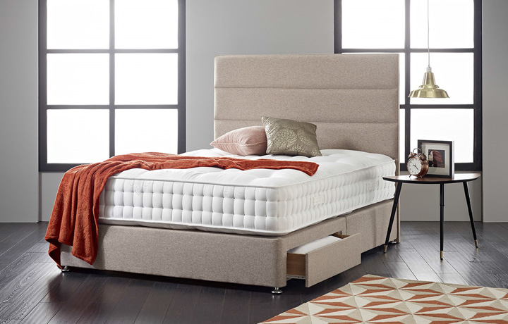 3ft-single-mattress-and-divan-bases - 3ft Single Diplomat 1000 Mattress With 2 Drawer Bases