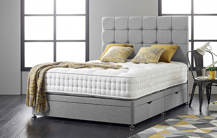 3ft-single-mattress-and-divan-bases - 3ft Single Diplomat 1000 Mattress With  Side Opening Ottoman
