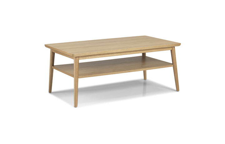 Nordic Solid Oak Collection - Nordic Solid Oak Large Coffee Table