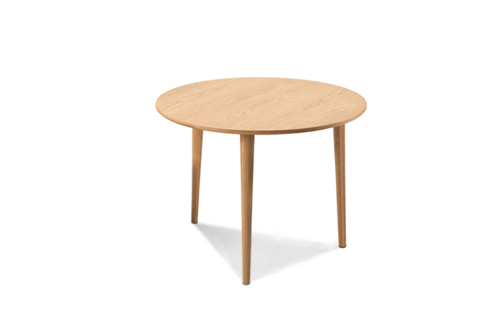 Dining Tables - Nordic Solid Oak Circular Dining Table