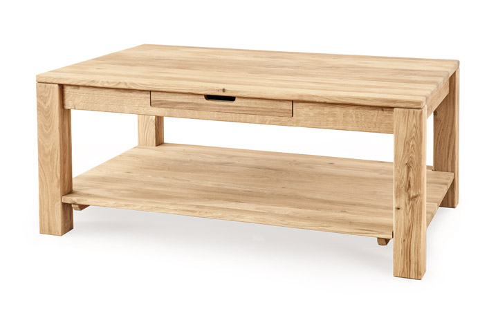 Natures Oak Collection - Natures Solid Oak - Coffee Table 1200 x 650mm