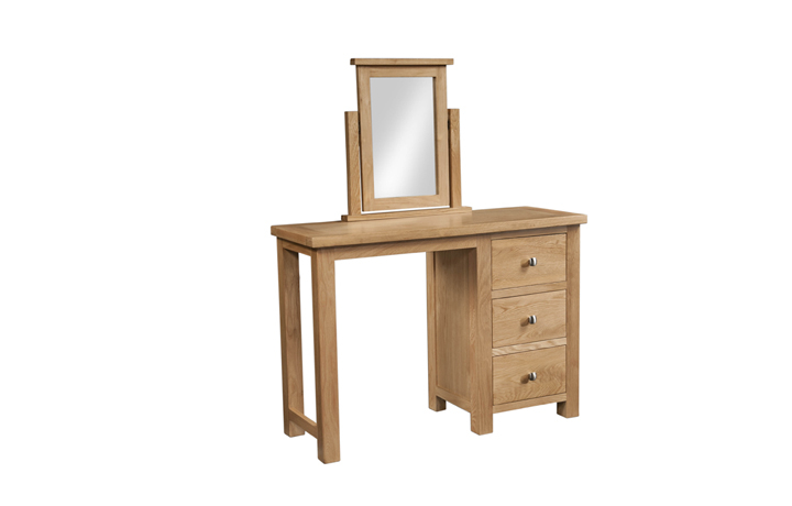 mirrors - Lavenham Oak Dressing Table Mirror