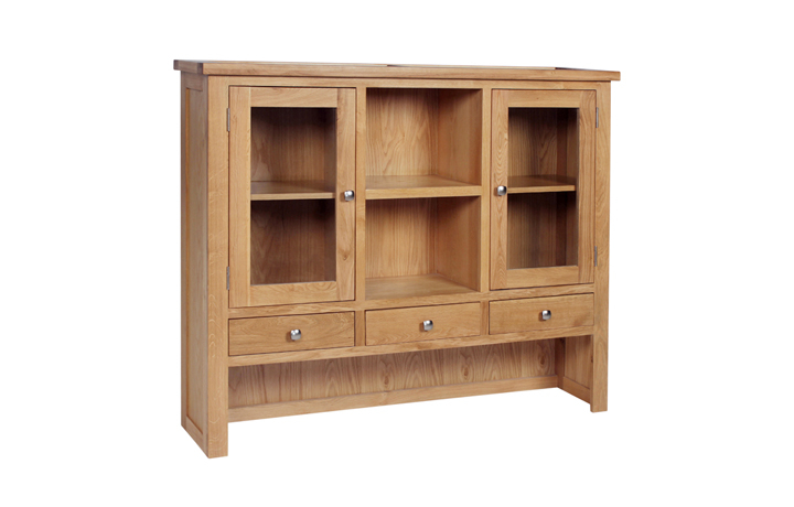 Dresser Tops & Larder Units - Lavenham Oak Large Dresser Top