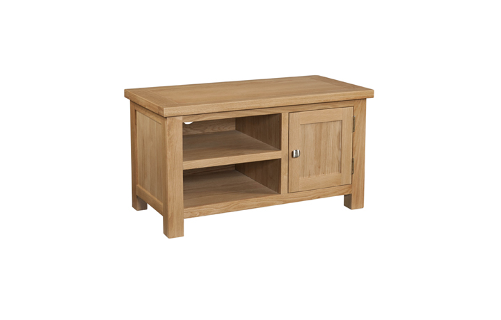 TV Cabinets - Lavenham Oak Standard TV Unit