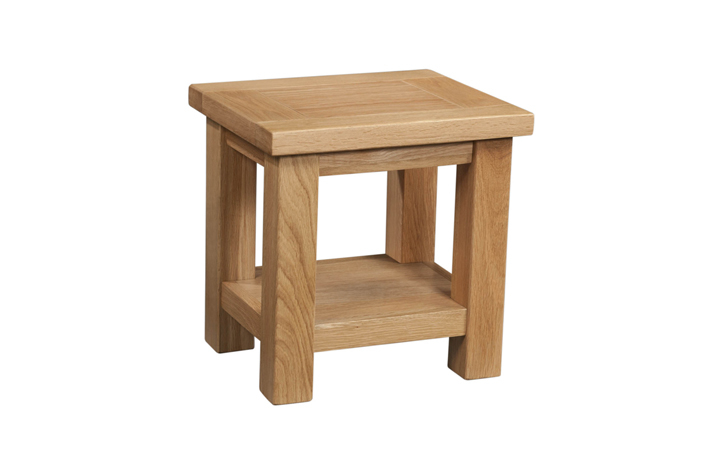 coffee-tables - Lavenham Oak Lamp Table