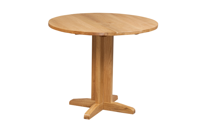 Dining Tables - Lavenham Oak Drop Leaf Table
