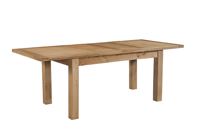 Dining Tables - Lavenham Oak 132-198cm Extending Dining Table