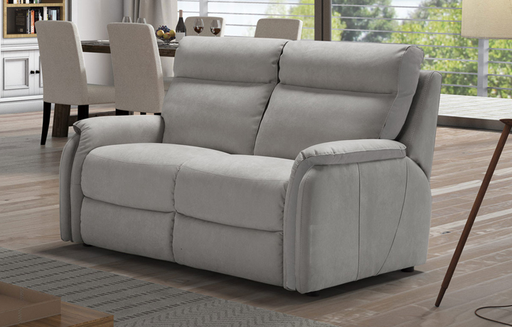 Florence Leather Collection - Florence 2 Seater Electric Recliner Sofa