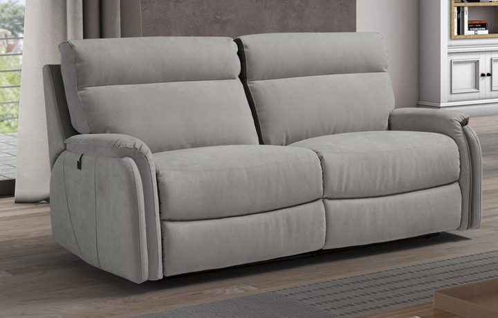 Florence Leather Collection - Florence 3 Seater Sofa (2 Cushions)