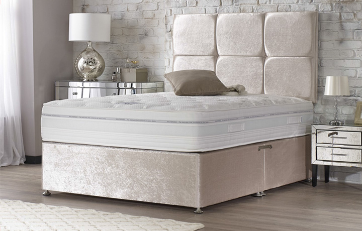4ft6 Double Mattress & Divan Bases - 4ft6 Double Quantum 1000 Mattress Zero Gravity Technology