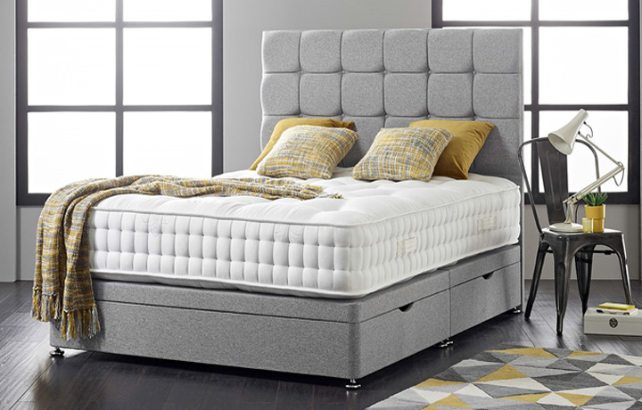 3ft Single Mattress & Divan Bases - 3ft Single Diplomat 5000 Mattress With Zero Gravity Technology