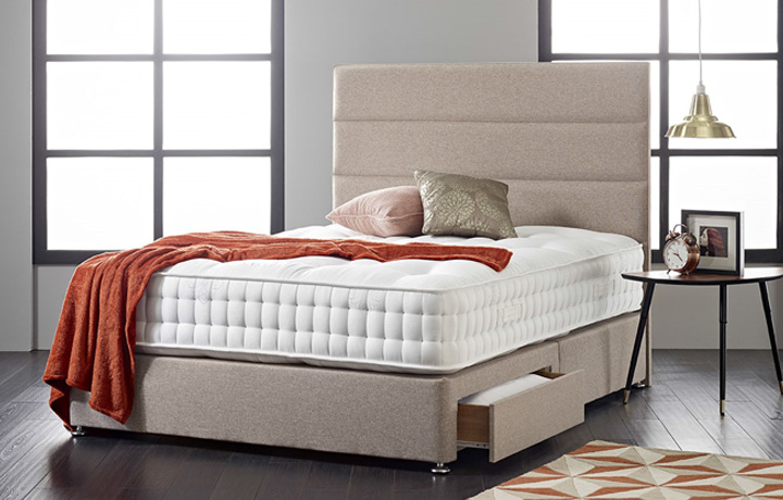 5ft Kingsize Mattress & Divan Bases - 5ft Kingsize Diplomat 3000 Mattress Zero Gravity Technology