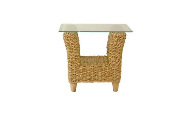 Daro - Kentdale Banana Leaf Range - Kentdale Side Table Natural Tone