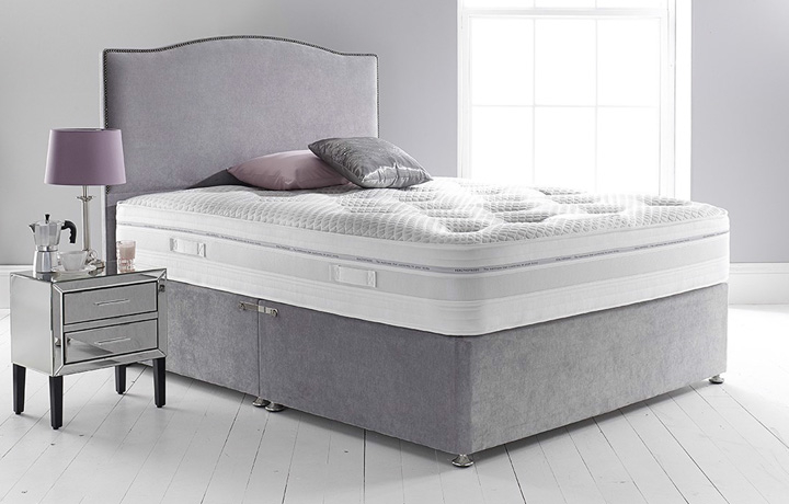 5ft King Size Mattress & Divan Bases - 5ft King Size Quantum 1000 Mattress Zero Gravity Technology