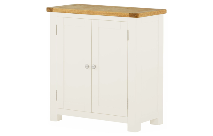 Pembroke White Painted Collection  - Pembroke White Painted 2 Door Cabinet