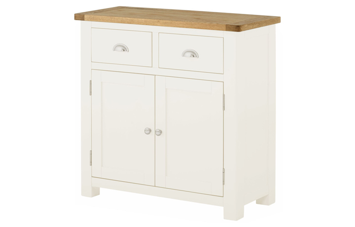 Pembroke White Painted Collection  - Pembroke White Painted 2 Door Sideboard