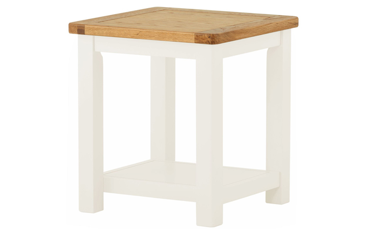 Coffee & Lamp Tables - Pembroke White Painted Lamp Table