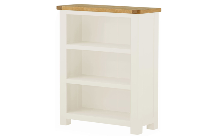 bookcases - Pembroke White Painted Small Bookcase