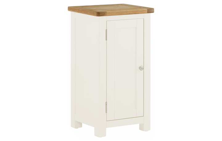 Sideboards & Cabinets - Pembroke White Painted 1 Door Cabinet