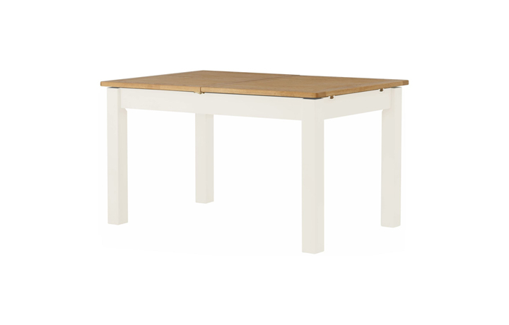 dining-tables - Pembroke White Painted Extending Dining Table