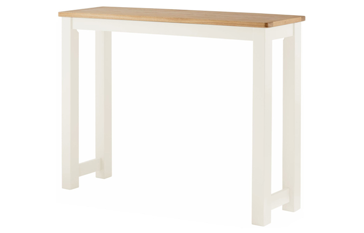 Pembroke White Painted Collection  - Pembroke White Painted  Breakfast Bar
