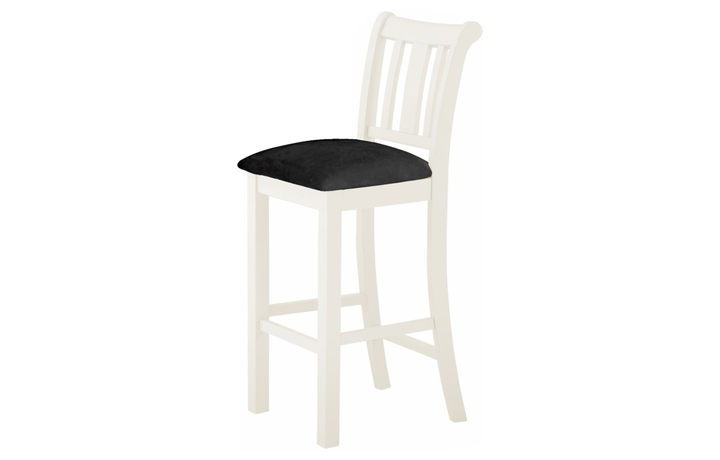 Pembroke White Painted Collection  - Pembroke White Painted Bar Stool