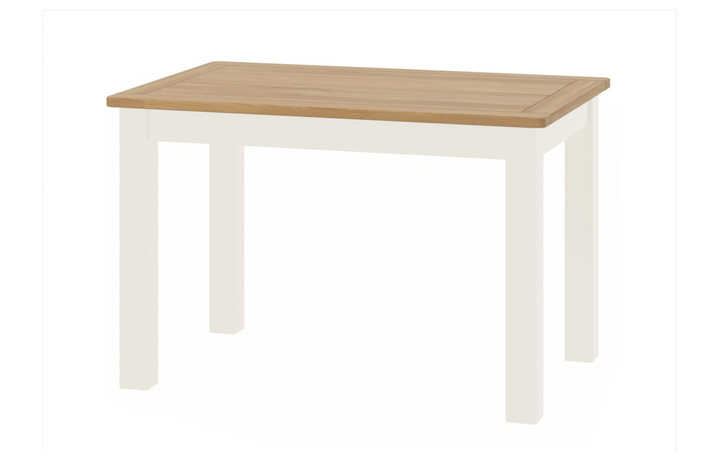Dining Tables - Pembroke White Painted Fixed Dining Table
