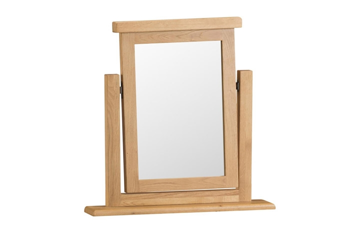 Burford Rustic Oak Collection - Burford Rustic Oak Trinket Mirror